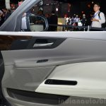 Jaguar XE right door pad at the 2014 Paris Motor Show