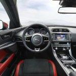 Jaguar XE steering wheel official image
