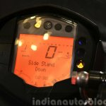 KTM RC200 digital display at the Indian launch