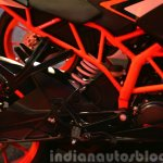 KTM RC200 frame at the Indian launch