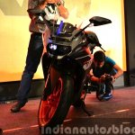 KTM RC200 front at the Indian launch