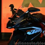 KTM RC200 front stance at the Indian launch