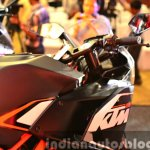 KTM RC200 fuel tank right at the Indian launch
