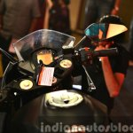 KTM RC200 handlebar at the Indian launch