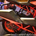KTM RC200 tail piece at the Indian launch