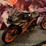 KTM RC390 and RC200 Style package front three quarter