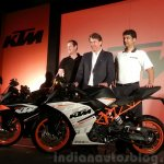 KTM RC390 and RC200 launch