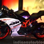 KTM RC390 at the Indian launch