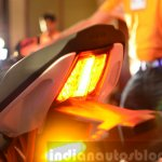 KTM RC390 brake light glow pattern at the Indian launch