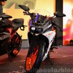 KTM RC390 front view at the Indian launch