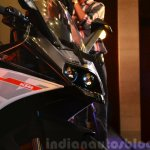 KTM RC390 headlamp with fairing at the Indian launch