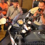 KTM RC390 mirrors at the Indian launch