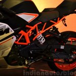 KTM RC390 rear section at the Indian launch