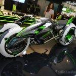 Kawasaki J-Concept front three quarters at the INTERMOT 2014