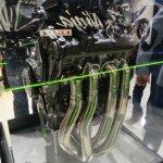 Kawasaki Ninja H2R engine exhaust pipes at INTERMOT 2014