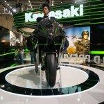 Kawasaki Ninja H2R front at INTERMOT 2014