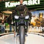 Kawasaki Ninja H2R headlamp at INTERMOT 2014