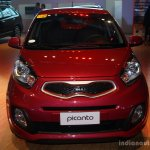 Kia Picanto front at the CAMPI 2014
