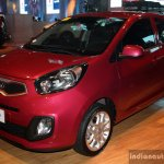 Kia Picanto front three quarter at the CAMPI 2014