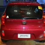 Kia Picanto rear at the CAMPI 2014
