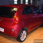Kia Picanto rear right three quarter at the CAMPI 2014
