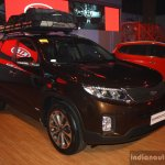 Kia Sorento front three quarter at the CAMPI 2014