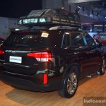 Kia Sorento rear three quarter at the CAMPI 2014
