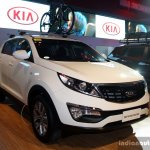 Kia Sportage front three quarter at the CAMPI 2014