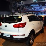 Kia Sportage rear three quarter at the CAMPI 2014