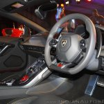 Lamborghini Huracan India Launch dashboard
