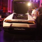 Lamborghini Huracan India Launch rear angle