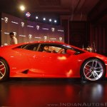 Lamborghini Huracan India Launch side