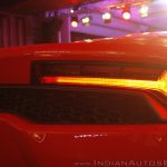 Lamborghini Huracan India Launch taillight