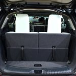 Land Rover Discovery Sport boot when the seats are in place at the 2014 Paris Motor Show