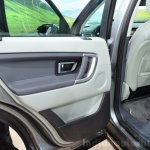 Land Rover Discovery Sport door trim at the 2014 Paris Motor Show