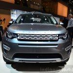 Land Rover Discovery Sport front at the 2014 Paris Motor Show
