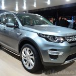 Land Rover Discovery Sport front three quarters left at the 2014 Paris Motor Show