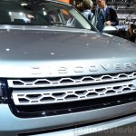 Land Rover Discovery Sport grille at the 2014 Paris Motor Show