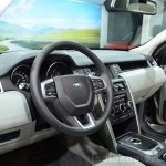 Land Rover Discovery Sport interior at the 2014 Paris Motor Show