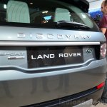 Land Rover Discovery Sport lettering at the 2014 Paris Motor Show