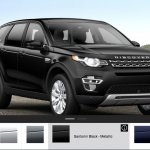 Land Rover Discovery Sport options color