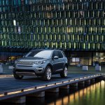 Land Rover Discovery Sport press shots front quarter