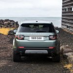 Land Rover Discovery Sport press shots rear