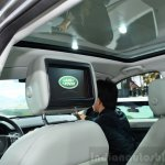 Land Rover Discovery Sport rear monitors at the 2014 Paris Motor Show