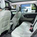 Land Rover Discovery Sport rear seat at the 2014 Paris Motor Show