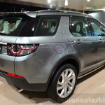 Land Rover Discovery Sport rear three quarters right at the 2014 Paris Motor Show