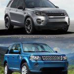 Land Rover Discovery Sport vs Freelander front