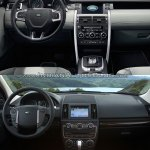 Land Rover Discovery Sport vs Freelander interior