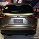 Lexus NX 300h at the CAMPI 2014 rear