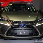 Lexus NX 300h front at the CAMPI 2014